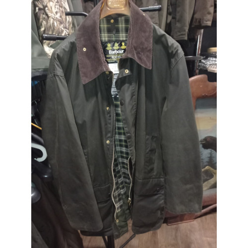 Barbour Border Waxos kabát