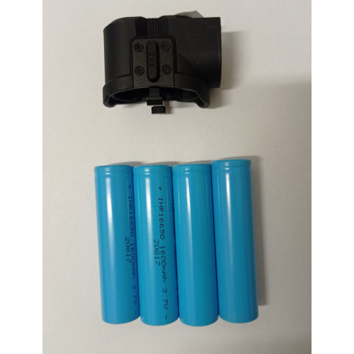InfiRay Saim / CL42 / CH50 IEB-2 akkumulátor szett (rekesz + 4x16650)
