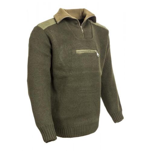 Bolero kötött vadász pulóver