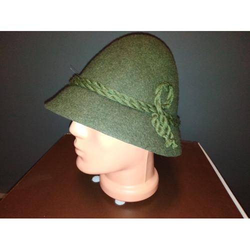 """Hubertus  """"Rumcájsz"""" kalap zöld"""